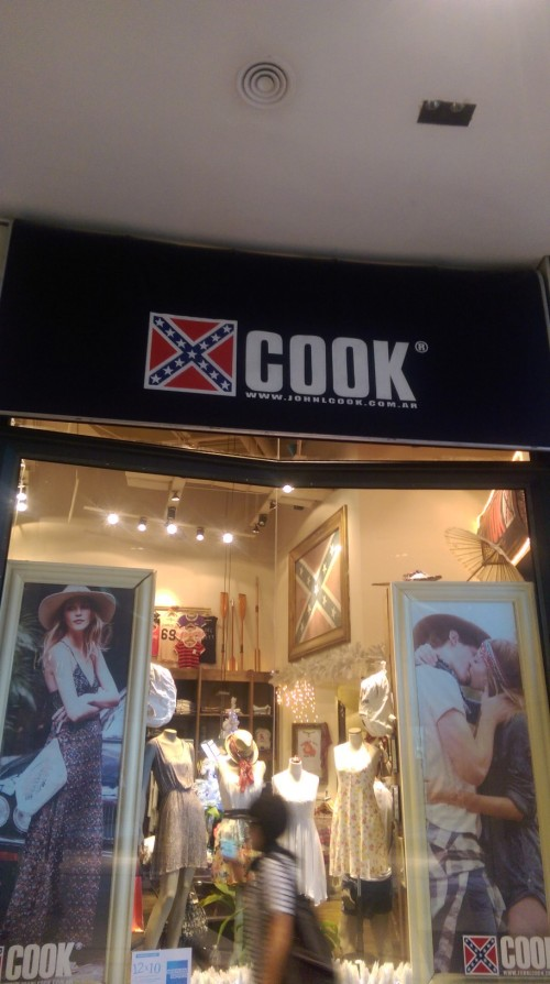 Is it Abercrombie? No, it's Cook!